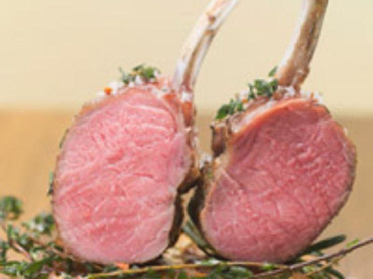 Côtelettes d'agneau au four, facile
