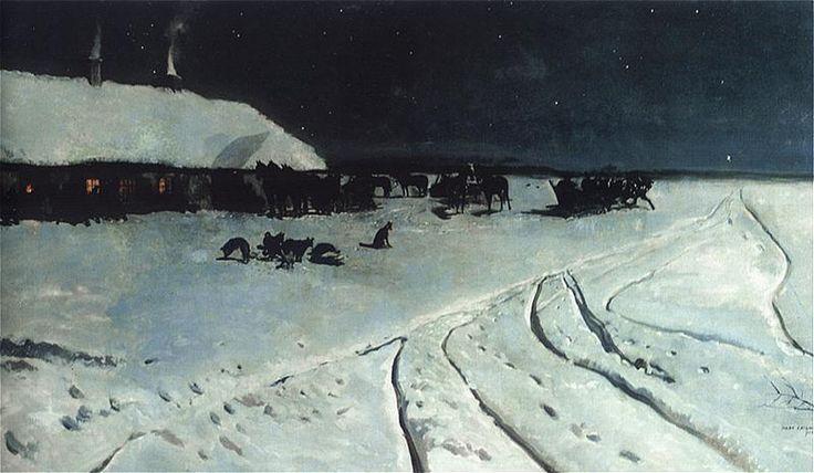 Józef Chełmoński was a Polish painter.