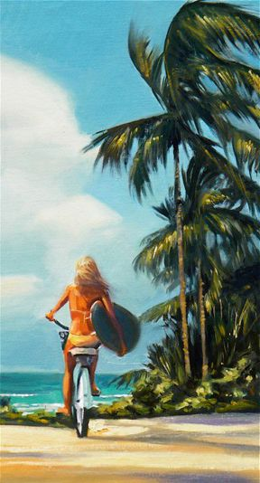 """""""Surf Check"""" by @Wade Barbour Barbour Barbour Koniakowsky"""