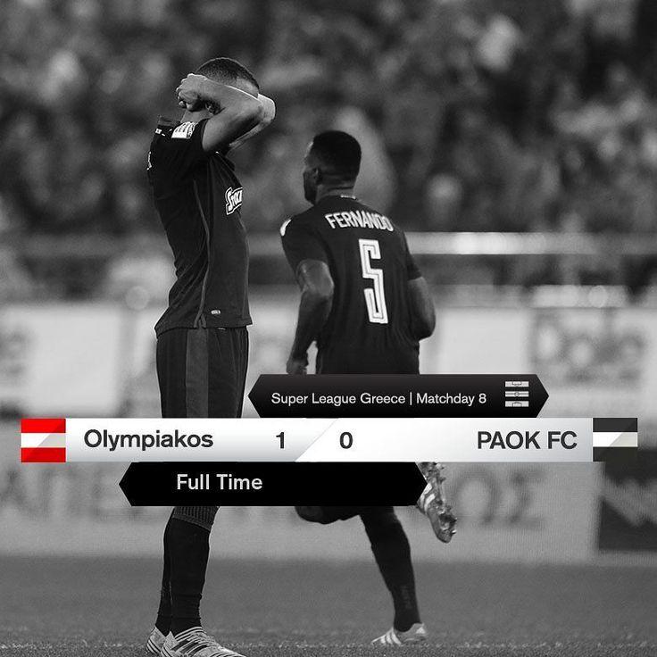 """Gefällt 2,665 Mal, 115 Kommentare - PAOK FC (@paok_fc) auf Instagram: """"#FinalScore #OLYPAOK 1-0 #SuperLeague"""""""
