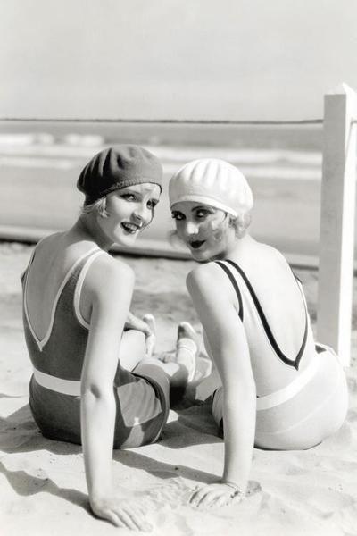 Diane Ellis & Carole Lombard, 1920s