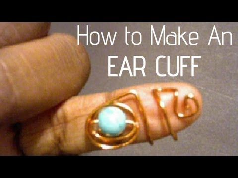(35) Jewelry Making  How To | Ear Cuffs! Very EZ! - @Emily Christine Make an elf ear for yourself! :P