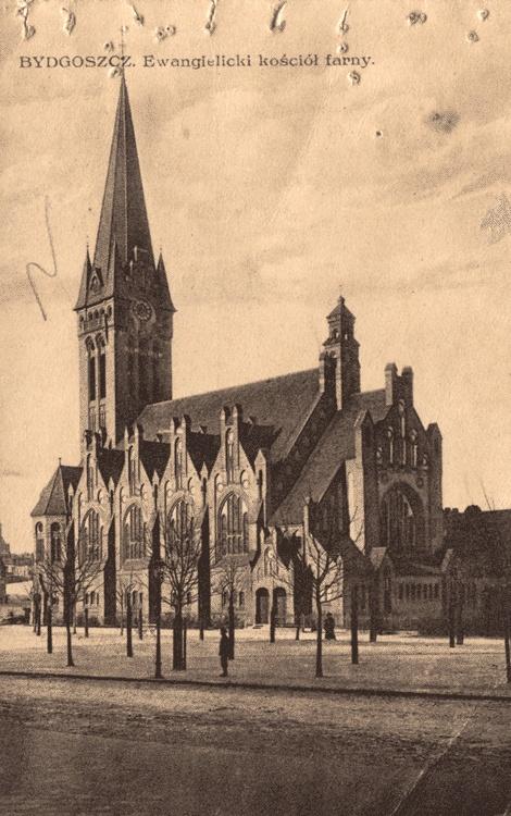 Bydgoszcz, Poland  Ewangielicki kosciol farny