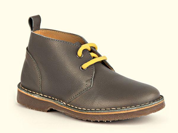 NR.5 desert boot grey-yellow