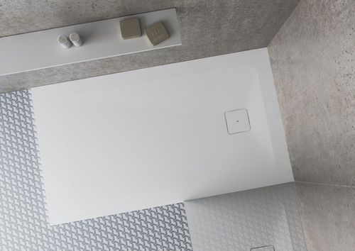 Discover All The Information About The Product Rectangular Shower Base /  Solid Surface / Flush / Custom NATURE (LISO)   HIDROBOX   ABSARA And Find  Where You ...