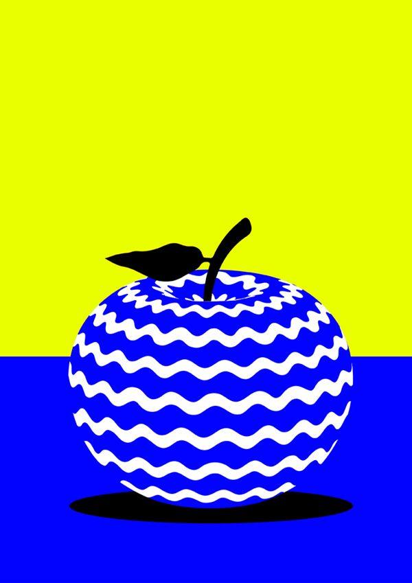 Forbidden Fruit by Karan Singh, via Behance