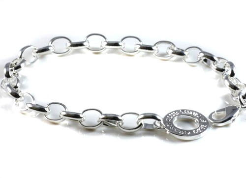 Thomas Sabo Bracelet with the charm club logo.