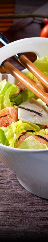 Recette de cuisine japonaise : sushi saumon, tofu, salade japonaise : Tanoshi