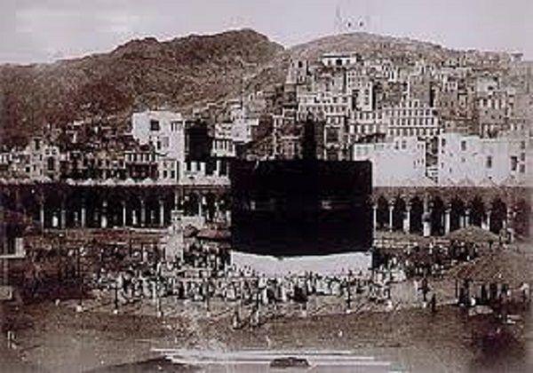 صورة قديمة للبيت العتيق