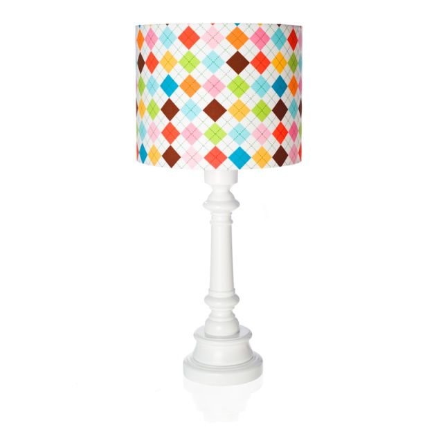 COLOURFUL GRID lamp for kids - Lamps & Co.  Remarkable table lamp COLOURFUL GRID is a great idea for additional lighting in children's room.