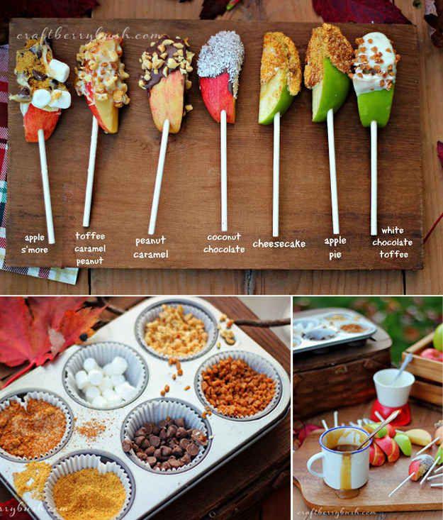 DIY Caramel Apple Bar | 29 Caramel-Apple Snacks That Will Hold You Close