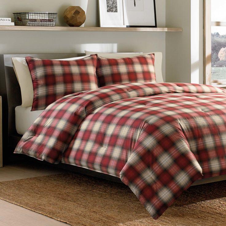 Navigation Plaid Comforter Set by Eddie Bauer