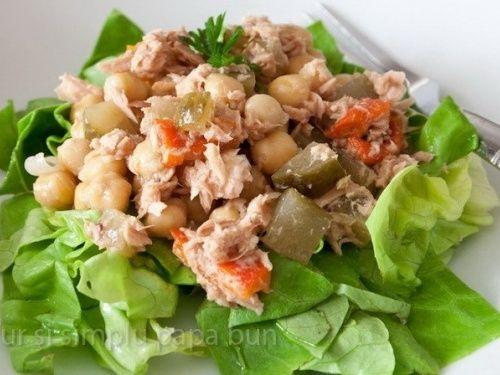 Salată de ton cu năut - imagine 1 mare