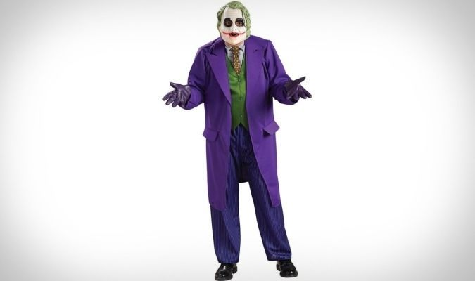 Batman The Dark Knight Joker Deluxe Costume http://coolpile.com/gear-magazine/136-coolest-halloween-costumes-can-actually-buy via coolpile.com  #Batman #BobaFett #CaptainAmerica #Catwoman #Chewbacca #Cool #Costumes #DarthMaul #DarthVader #DCComics #Disney #GameOfThrones #GreenLantern #Halloween #IronMan #Jaguar #Joker #Marvel #OptimusPrime #Pants #Party #Penguin #Pirates #Predator #Spiderman #StarTrek #StarWars #Superman #Thor #Transformers #Wolverine