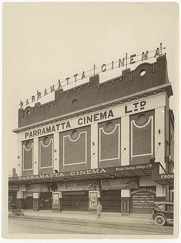 Parramatta Cinema, c. 1920s, by Sam Hood | Flickr - Photo Sharing!