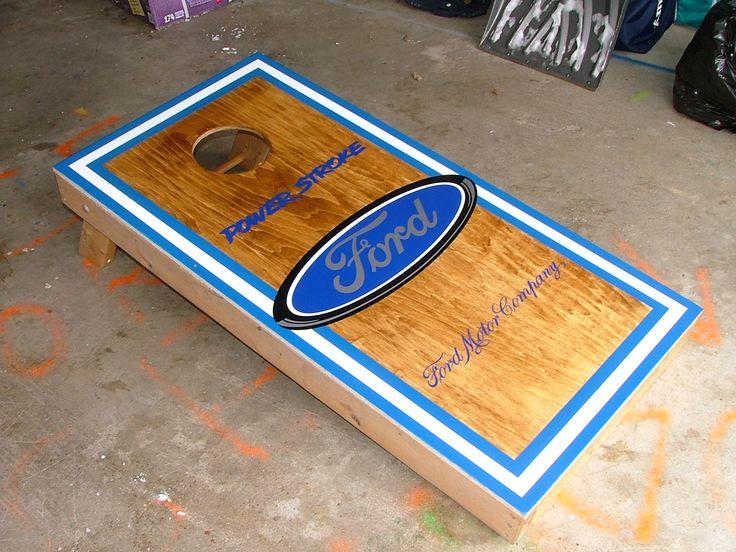 Cornhole Board Hole Designs