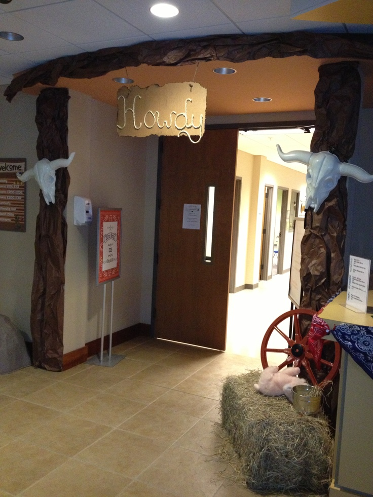 78 Best Images About Vbs Western Decorating Ideas On