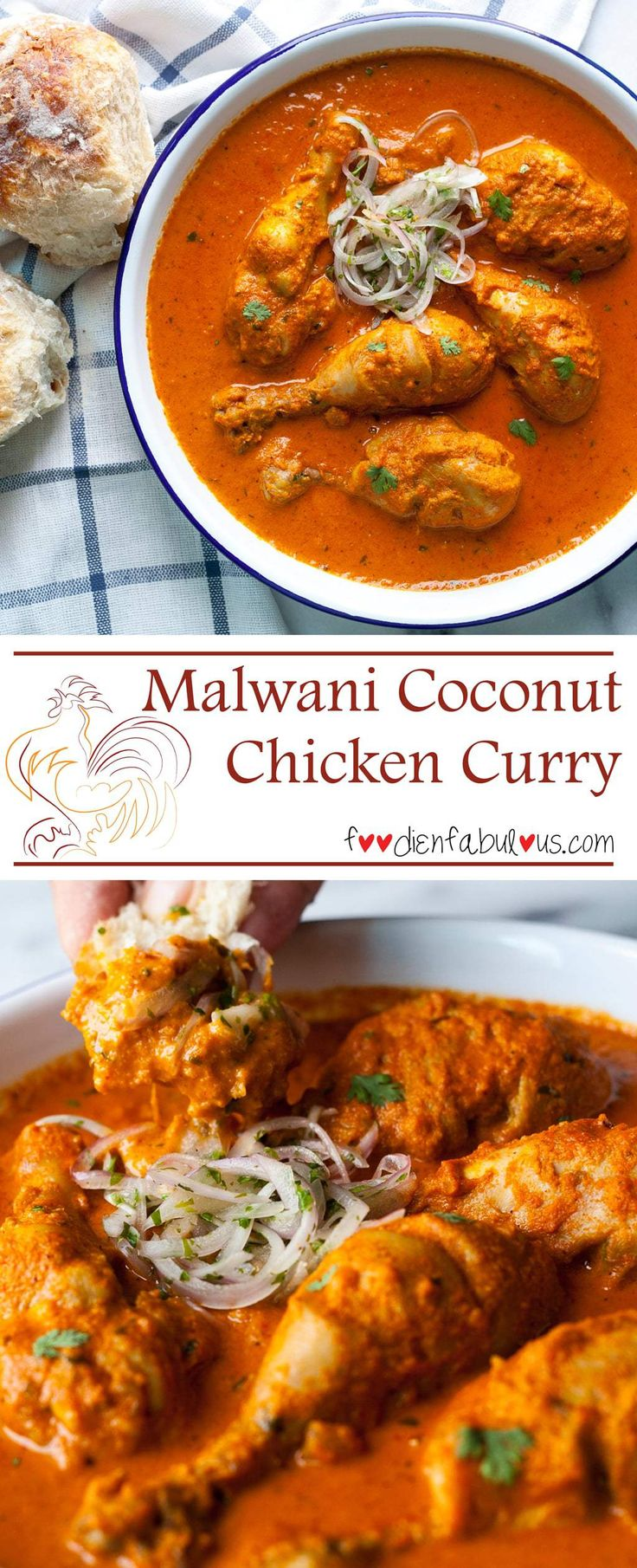 Malwani coconut Chicken Curry recipe has the sublime earthiness that comes from dry roasting fresh coconut and blending it together with spices.