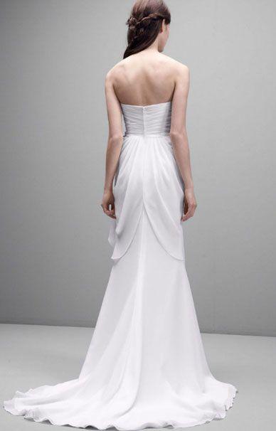 Греческое свадебное платье от Веры Вонг из новой коллекции