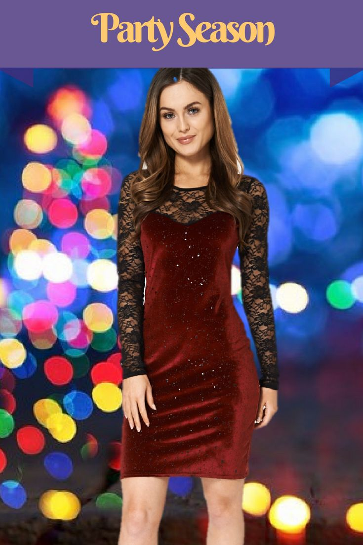 #fashionStunning party dress Burgundy Embellished Velveteen Dress With Lace Insert get your here https://theotherrealmclothing.com/collections/dresses/products/burgundy-embellished-velveteen-dress-with-lace-insert #fashionista #shoponline #velvet #partydress #festive #partyseason #fashionista