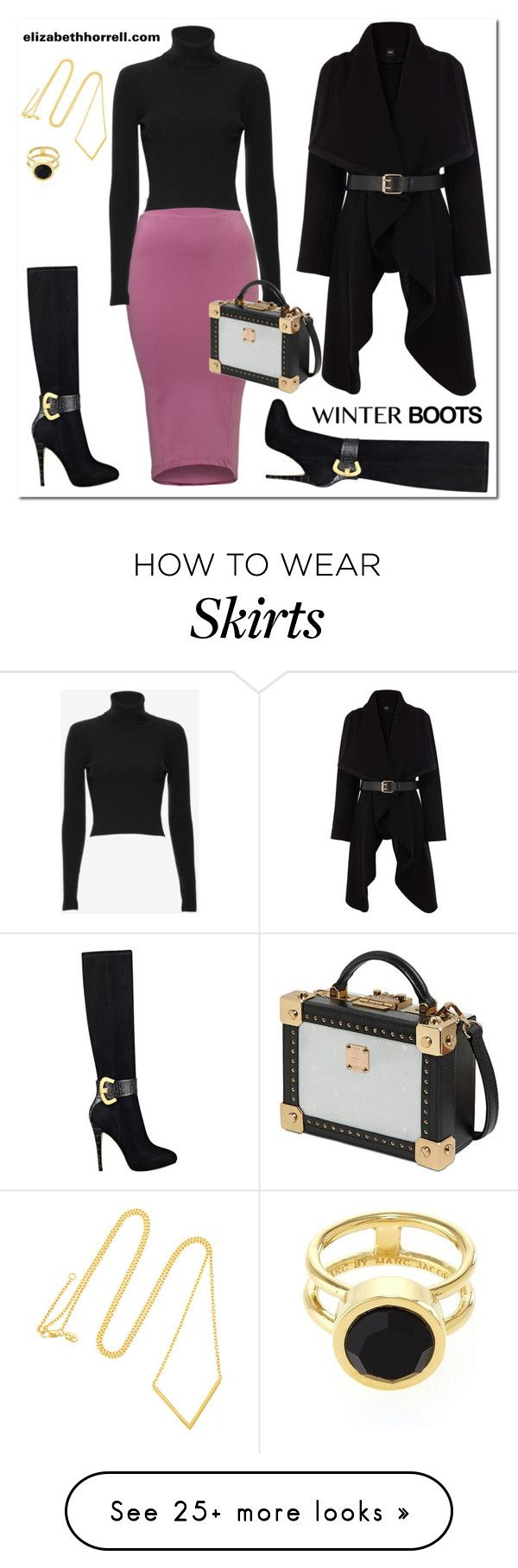"""LIZ"" by elizabethhorrell on Polyvore featuring GUESS, A.L.C., Oasis, MCM, Maria Black and Marc by Marc Jacobs"