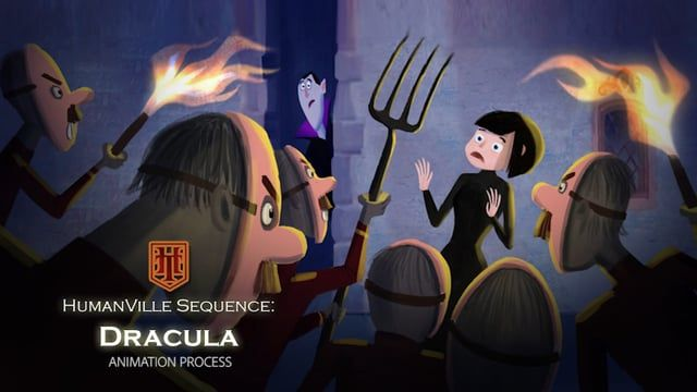 My Animation process for one of the shots from Hotel Transylvania  Copyrights © Sony Pictures Imageworks  www.jinkum.com