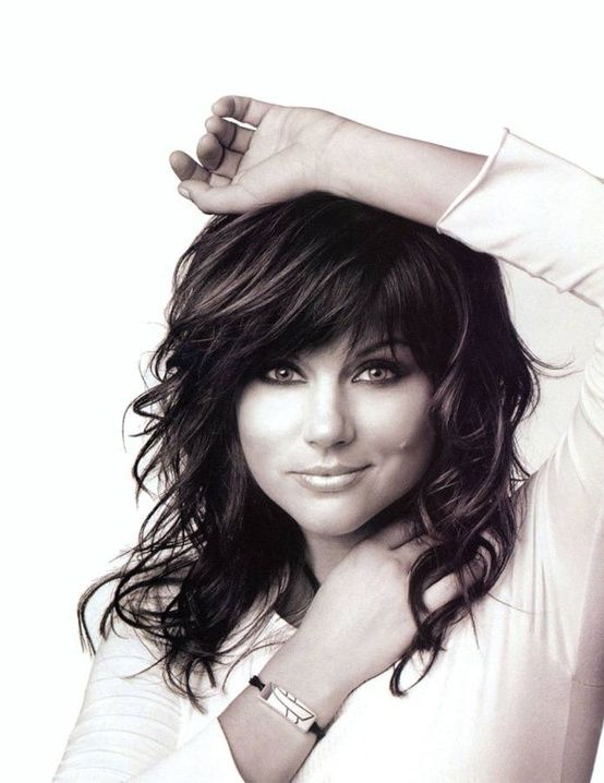Short layers on longer hair - growing out my short hair so I can do this :)