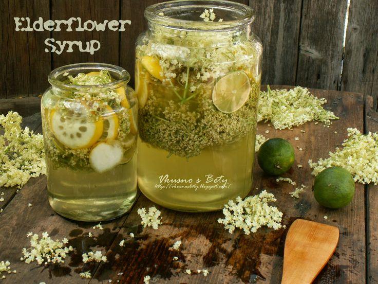 Сироп от бъз - Elderflower Syrup