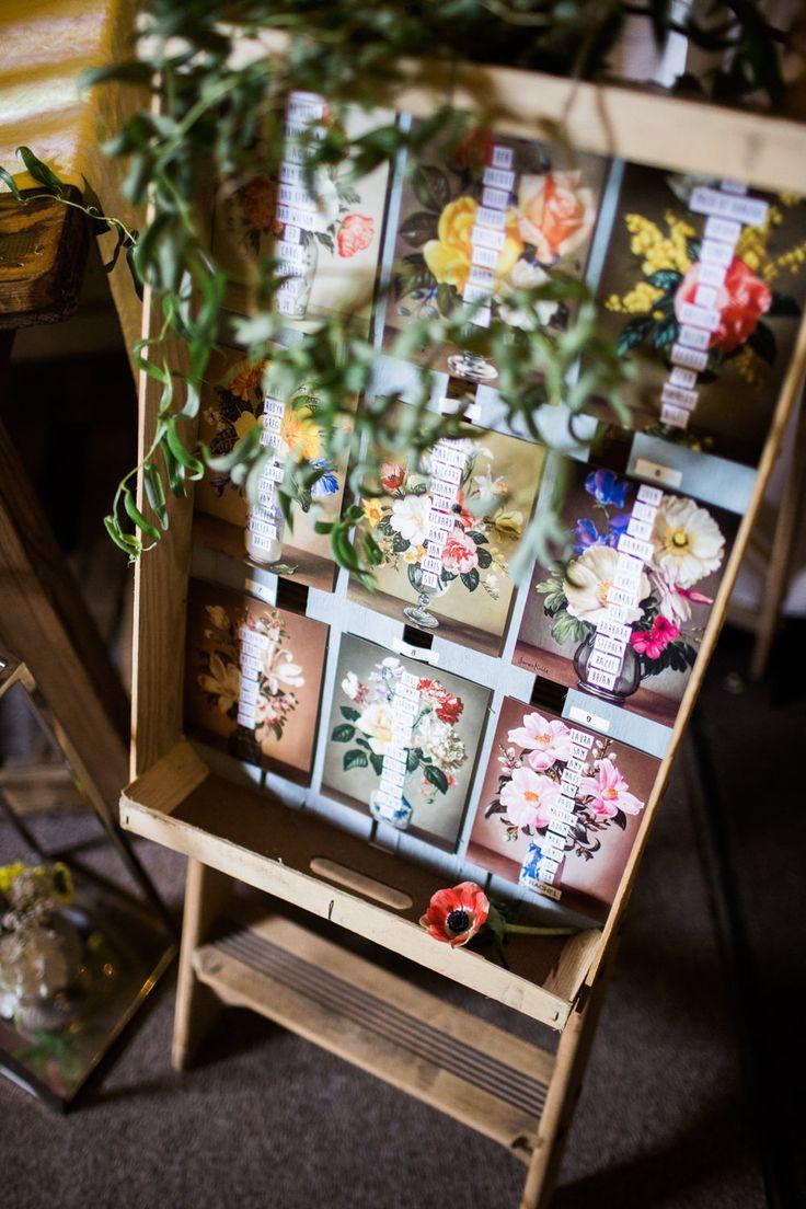 East Riddlesden Hall Barn Wedding Venue in Yorkshire | Vintage Wedding Dress | Bright Florals | BHS Bridal Bridesmaid Dresses | Joe Stenson Photography | http://www.rockmywedding.co.uk/rebecca-jon/