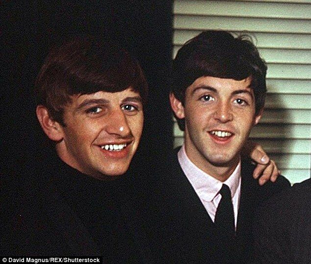 Ringo Starr, pictured with Paul McCartney was unable to go on the tour due to illness
