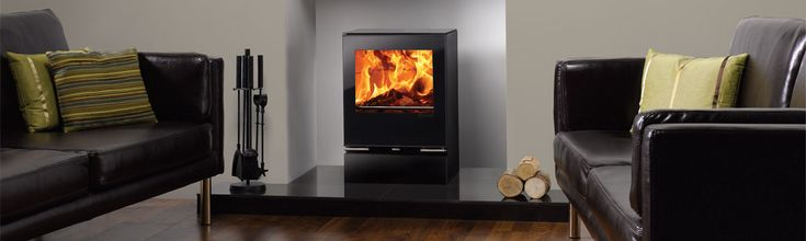 Featuring sparkling black glass doors, Riva Vision wood burning stoves & multi-fuel stoves also offer you the flexibility of plinth and bench options.
