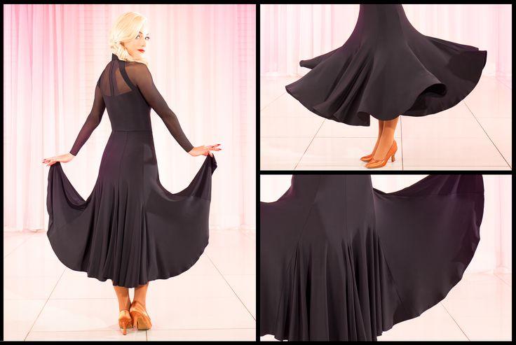 Tania Nova Skirt Black