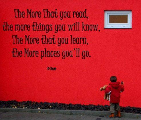 The more you read Dr Seuss wall decal by iVinyl on Etsy