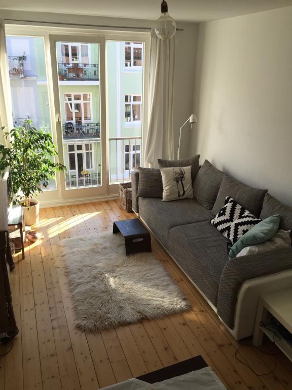 Gemtliches Wohnzimmer In Hamburg Eimsbttel