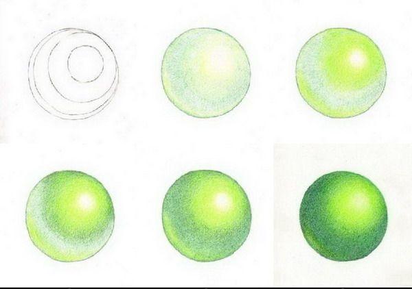 20.- Técnica de los lápices de colores.- 3ª Parte :: Valero