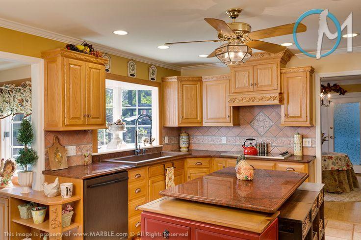 Red Dragon Granite Countertops Marble Com Kitchen