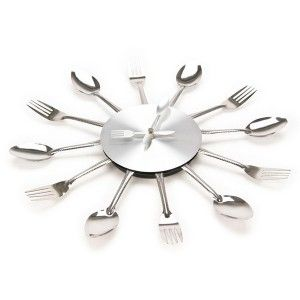 Reloj de Pared Cubiertos (Cucharas/Tenedores) / Spoon and Fork Wall Clock · Tienda de Regalos originales UniversOriginal