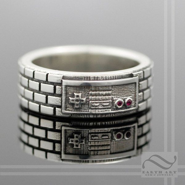 This NES Controller Ring Proves You're Still In Love With Retro Gaming