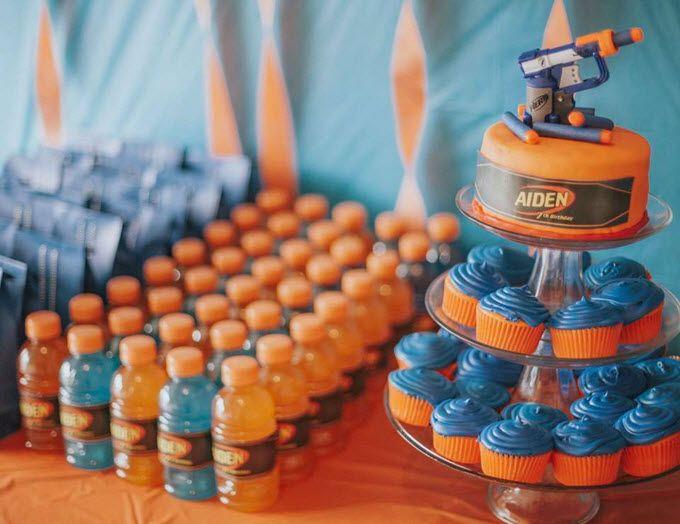 13 Brilliant Nerf War Party Ideas