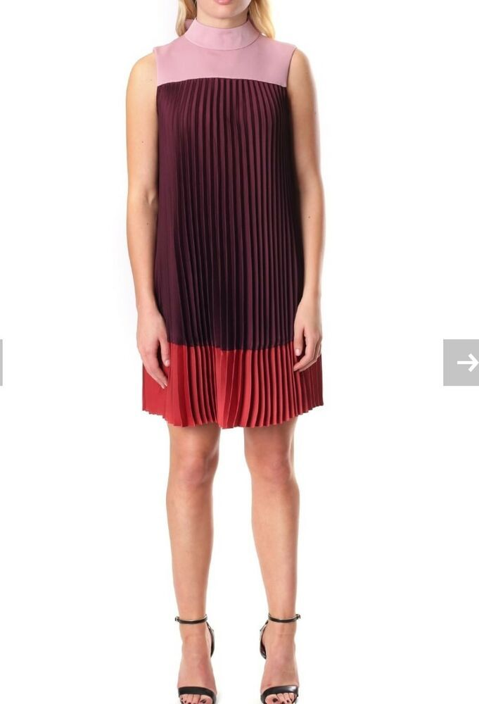 cc99914c6 TED BAKER KIMMEA PLEATED DRESS UK SIZE 10 TED SIZE 2  fashion  clothing   shoes  accessories  womensclothing  dresses (ebay link)