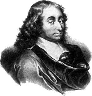 Blaise Pascal ,, Człowiek jest tylko trzciną, najwątlejszą w przyrodzie, ale trzciną myślącą. ''