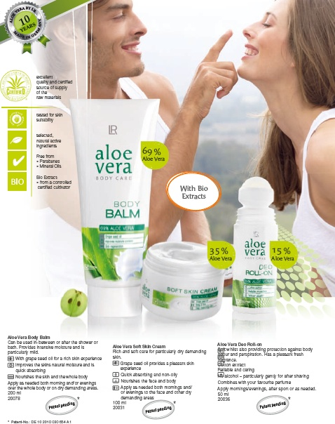 Aloe Vera Body Care http://www.lrworldshop.com/aloe-vera/body-care/