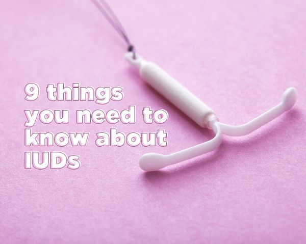 9 Things You Need to Know About IUDs  - Photo by: Shutterstock http://www.womenshealthmag.com/health/iud-need-to-know