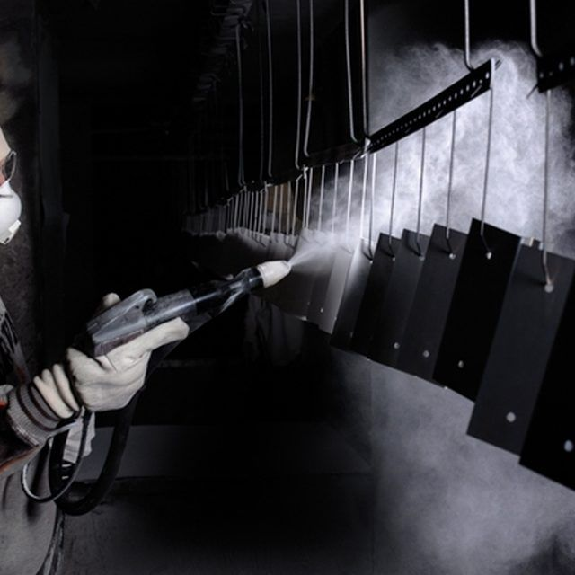 The Application of a Powder Coating