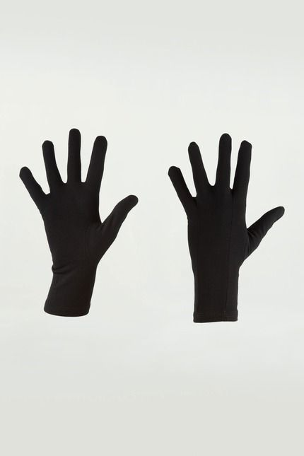 Very Lightweight glove liners.  Combine with heavy duty gloves or summit mittens