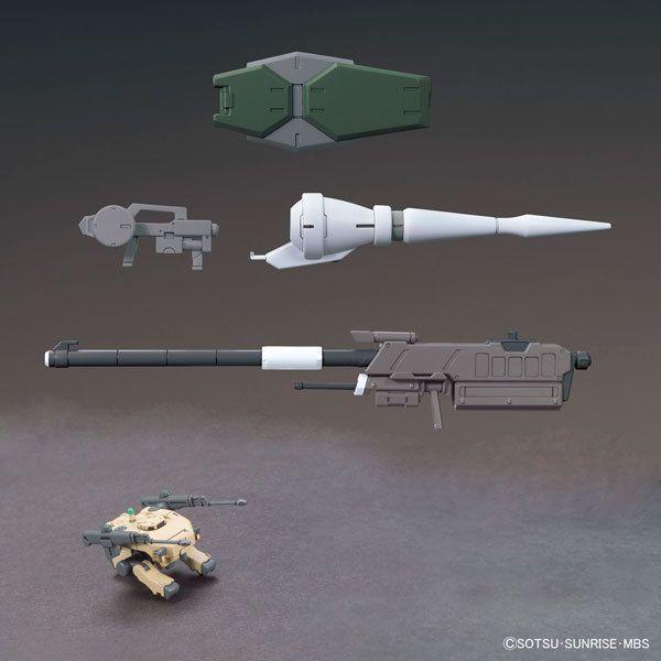1/144 HG MS Option Set 1 & CGS Mobile Worker Parts | Iron-Blooded Orphan Gundam | Gunpla | Military Sci-Fi Animé| Mecha Scale Model