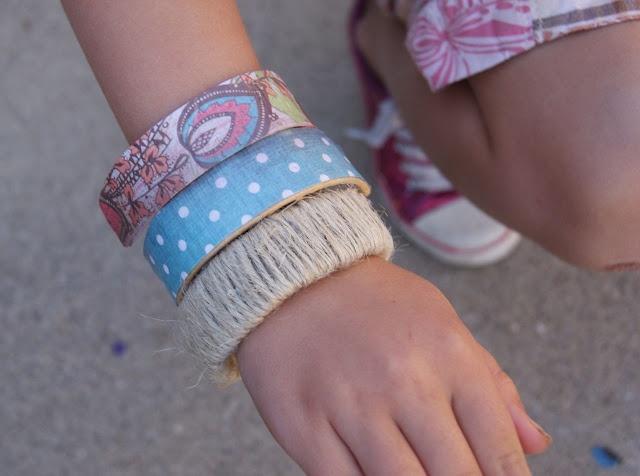 pop bracelets: Crafts Ideas, Popsicle Stick Bracelets, Kids Crafts, Ice Cream, Bracelets Crafts, Popsicles Sticks Bracelets, Diy, Popsicle Sticks, Crafts Sticks