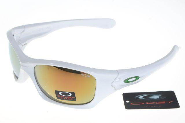 Oakley Crankcase Sunglasses White Frame Colorful Lens 0171