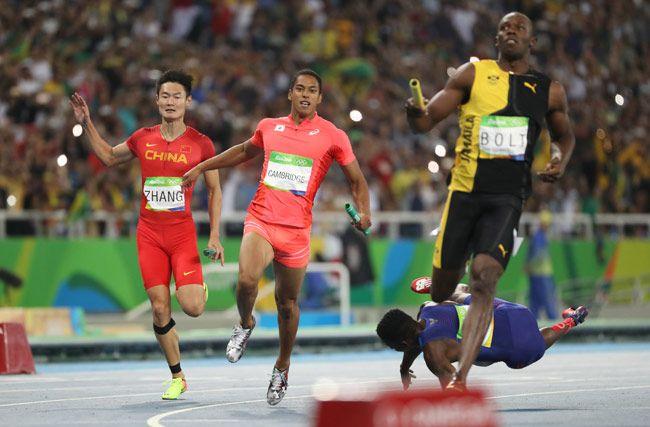 リオデジャネイロ五輪・陸上男…:リオ五輪 男子400メートルリレー 写真特集 - リオ五輪・パラリンピック 2016:時事ドットコム