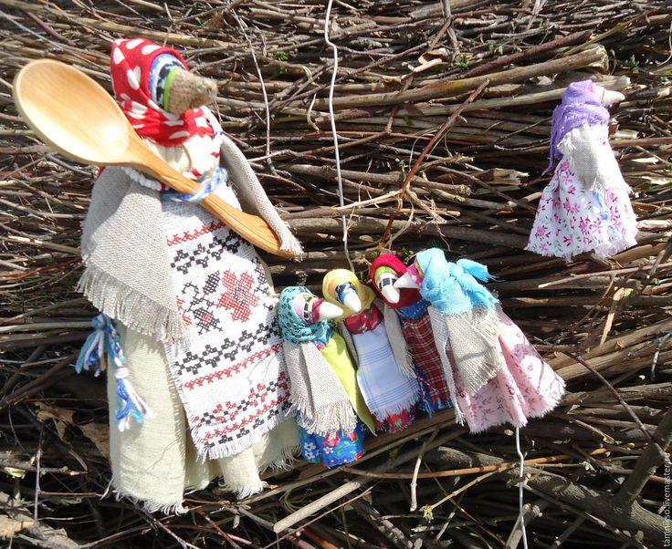 """Купить Куклы """"Сорока ворона  кашу варила...."""" 6 шт. - комбинированный, куклы и…"""